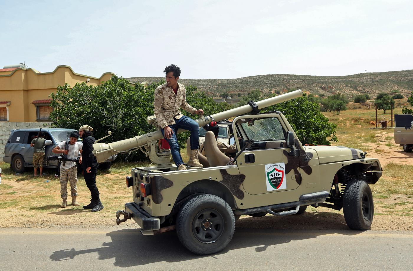 Libya's GNA forces 'launch offensive' to seize key airbase