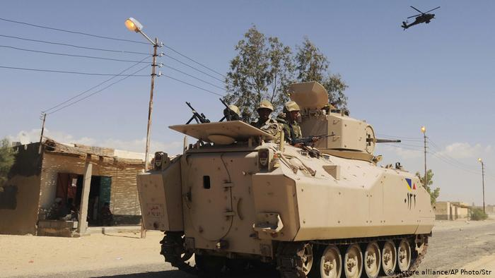Egypt: Deadly blast targets soldiers in Sinai