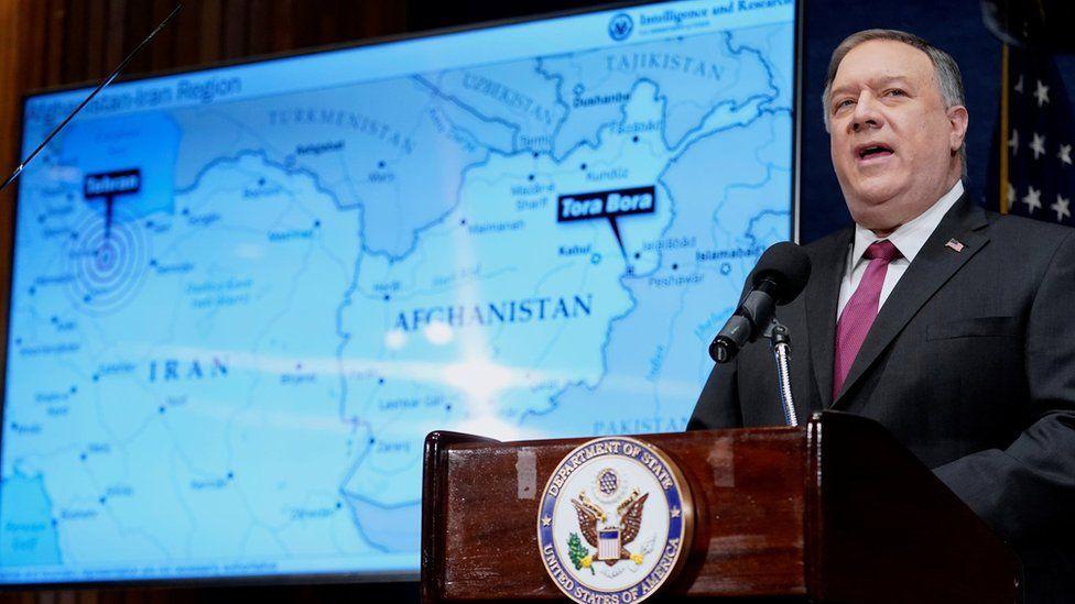Al-Qaeda: Pompeo says Iran is jihadist network's 'new home base'