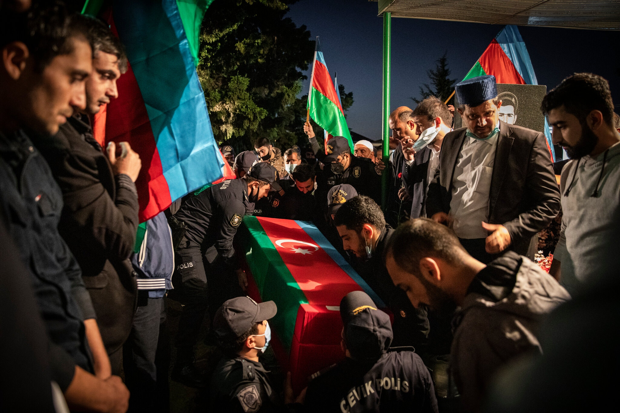 In Azerbaijan, Pain and Loss Drive War Fever